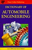 img - for Dictionary of Automobile Engineering book / textbook / text book