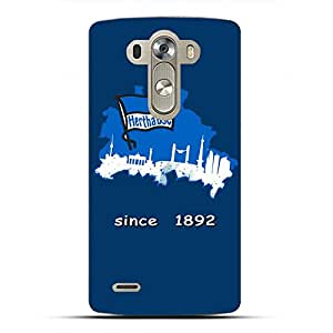 Famous Design FC Hertha BSC Theme Football Club Phone Case Cover For LG G4 3D Plastic Phone Case