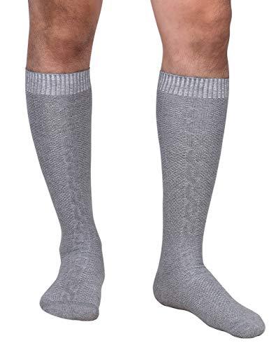 Aoile Mens Oktoberfest Casual Long Socks German Trachten Lederhosen Bavarian Stocking