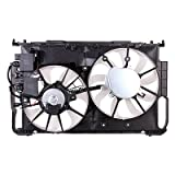 MAPM Premium Quality DUAL RADIATOR AND CONDENSER FAN ASSEMBLY; WITH MODULE