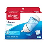 Playtex Baby Ventaire Anti Colic Baby Bottle, BPA Free, Blue, 6 Ounce...