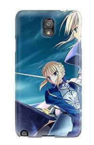 High Grade Flexible Tpu Case For Galaxy Note 3 Fate/stay Night