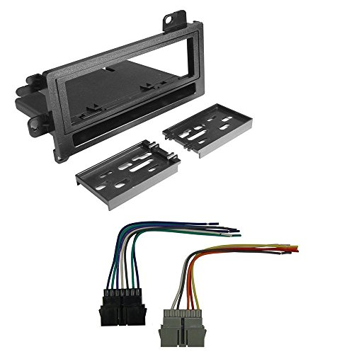 CAR RADIO STEREO CD PLAYER DASH INSTALL MOUNTING KIT HARNESS DODGE EAGLE JEEP PLYMOUTH 1974-2001 (Dodge Car Stereo Kit compare prices)