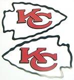 NFL Kansas City Chiefs Magnet Set (4 Piece), One Size, Red