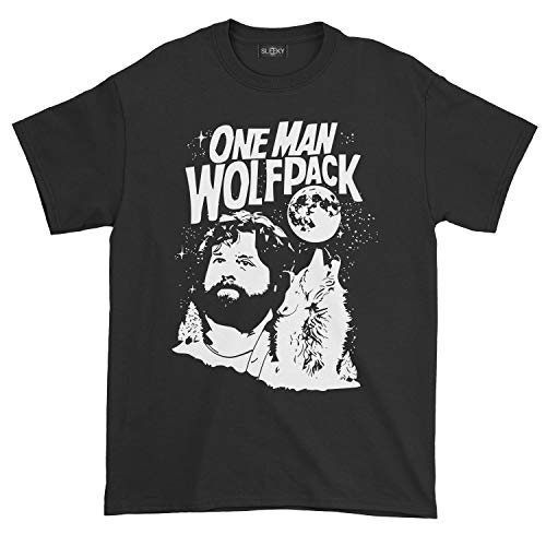(Men's The Hangover One Man Wolfpack T-Shirt (M,)