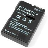 SHOPEE EN-EL14 Li-ion Battery 1200 MAH for Nikon D5100 D5200 D5300 D5500 DF P7000 P7100 P7200 P7700 P7800 Digital Camera as EN-EL14A