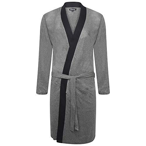 522e13ae32e Best Deals Direct UK Insignia® Mens Dressing Gowns Lighweight Cotton Jersey  Gowns  Amazon.co.uk  Clothing