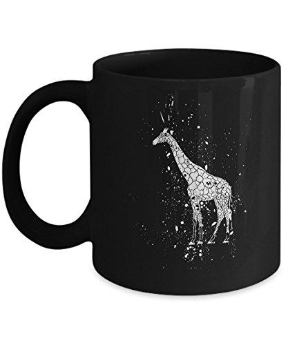 (Shirt White Giraffe Print Easy Halloween Costume Idea Coffee Mug 11oz)