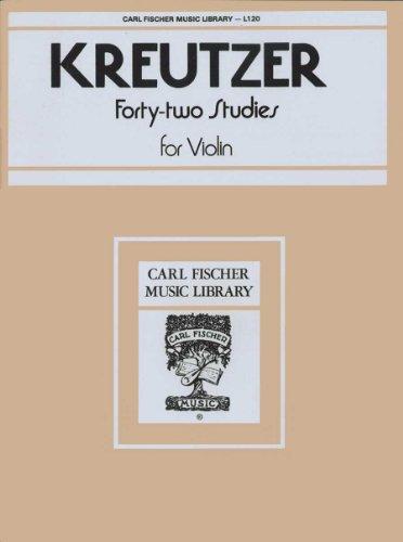 L120 - Kreutzer - 42 Studies for Violin for sale  Delivered anywhere in USA
