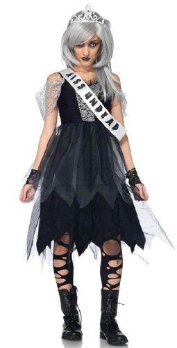 [Prom Queen Teen Zombie Costume - Teen S/M (0-5)] (Zombie Queen Costumes)