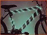 TDLTEK 8 Pack Neon Glowing Strobing