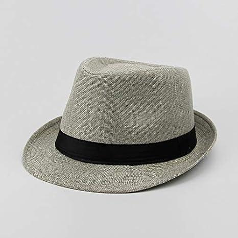 HEHEXIY Sombreros Ocasionales para el Sol Sombrero de Paja para ...