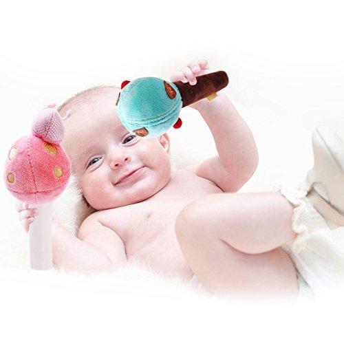 Amazon Com Shiloh Deluxe Baby Plush Crib Mobile With 60