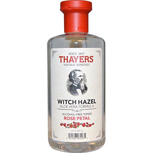 THAYERS Rose Petal Witch Hazel Toner - Alcohol Free & Organic Aloe Vera