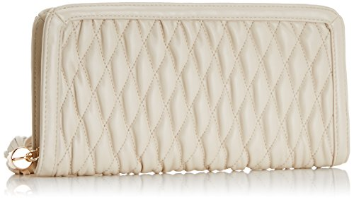Jane Shilton Crystal - Quilted Zip - bolso de mano mujer Blanco - marfil