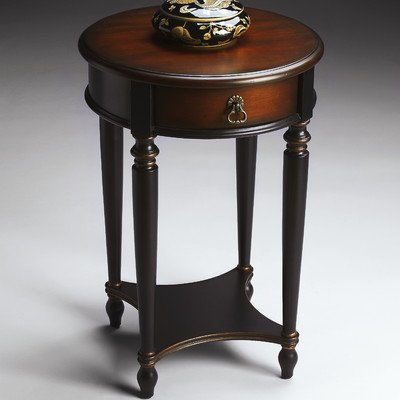 BUTLER 2096104 JULES CAFÉ NOIR ACCENT TABLE