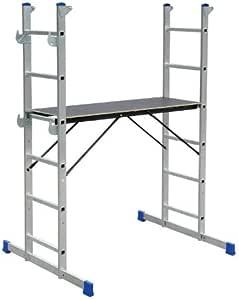 Pequeño andamio escaleras andamio Elkop HPP 650: Amazon.es: Bricolaje y herramientas
