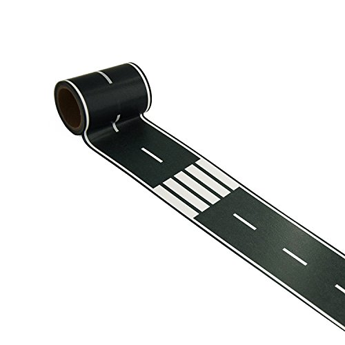Black Road Tape Creative Traffic for Kids Birthday Car Party Gift 33