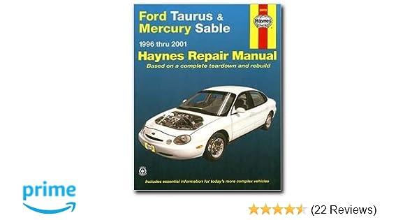 haynes manuals 36075 taurus sable 1996 2001 0038345360756 amazon rh amazon com 2001 ford taurus repair manual free 2001 ford taurus repair manual pdf free