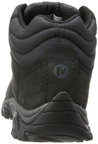 de Rover Randonnée Hautes Chaussures Homme Merrell Moab Mid Black nIwq4wv