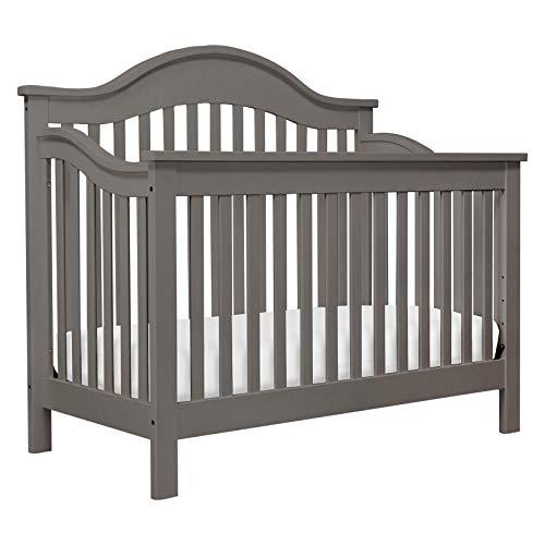 DaVinci Jayden 4-in-1 Convertible Crib in Slate | Greenguard Gold Certified