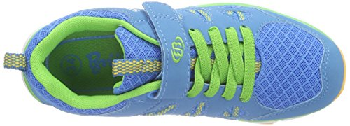 Bruetting Spiridon Fit Vs Jungen Laufschuhe Blau (blau/lemon/orange)