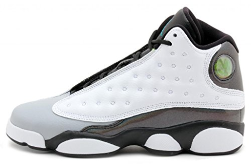 brand new 278ab 76ee6 Nike Air Jordan 13 Retro BG Black White Wolf Grey Tropical Teal 414574-115  (SIZE  4.5Y) - Buy Online in Qatar.   Apparel products in Qatar - See  Prices, ...