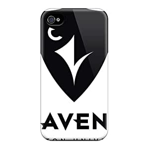 Premium Tpu Baltimore Ravens Cover Skin For Apple Iphone 4/4S