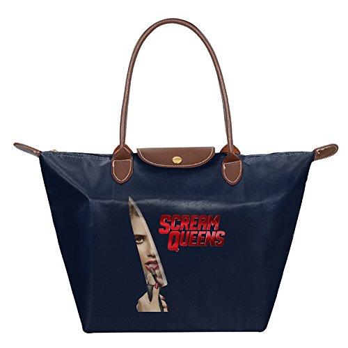Scream Queens Devil Full Mask Shoulder Bag Hand Bag Navy