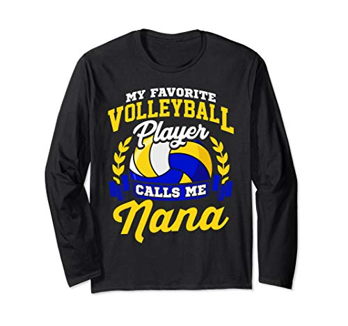 (Volleyball Quote My Favorite Player Calls Me Nana Gift)