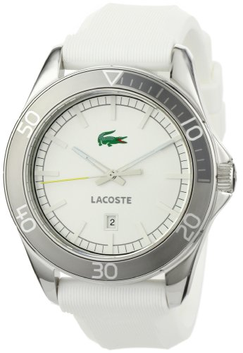 (Lacoste Sportswear Collection Sport Navigator Silver Dial Men's Watch #2010507 )