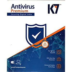 K7 Antivirus Premium- 1 User, 1 Year (Email Delivery in 2 hours – No CD)