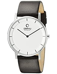 Obaku Men's V143GXCIRN Analog Display Analog Quartz Brown Watch