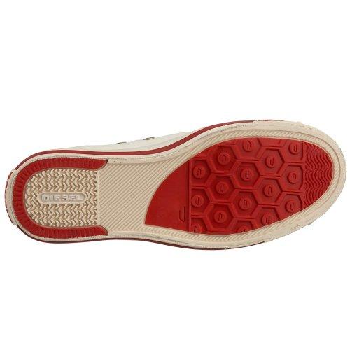 Low Magnete Exposure T1002 White Denim Diesel W Bianco Sneaker taglia qE6wqdBH