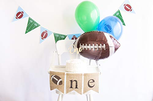 Football First Birthday Party Pack | Football Party Smash Cake Kit | Football Party Decor