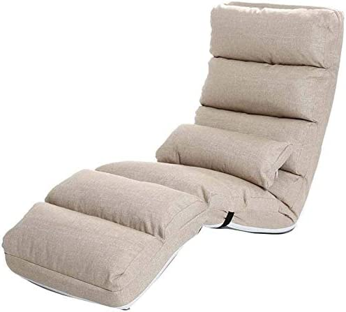 Chaise Longue Lazy Couch Single Sofa Folding Chair Bedroom