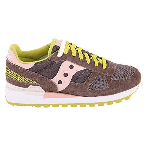 Mujer Saucony W De Shadow Original Zapatillas Para Running Lime Rose wwqF0Txr