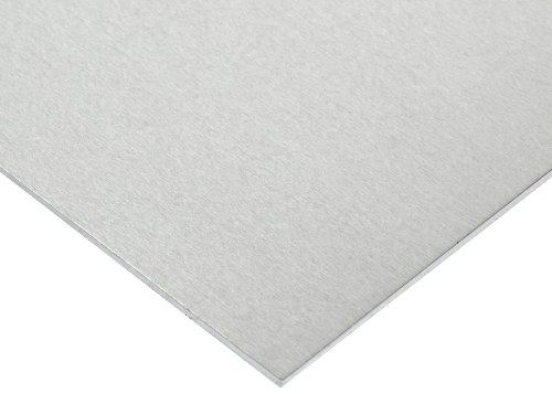 AMS QQ-A-250//11//ASTM B209 6061 Aluminum Sheet 24 Width T6 Temper Mill Unpolished 48 Length Finish 0.09 Thickness