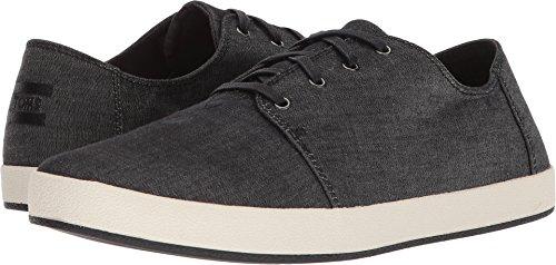 TOMS Men's Payton Denim Chambray Sneaker Black Chambray (10 D ()