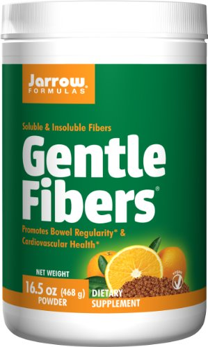 Jarrow Formulas Gentle Fibers, Promotes Bowel Regularity, 16.50 Ounce