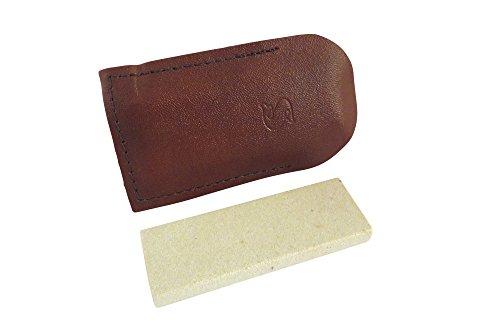 Combination Arkansas Stone (Natural Authentic Arkansas Soft (Medium) Pocket Knife Sharpening Stone Whetstone 3