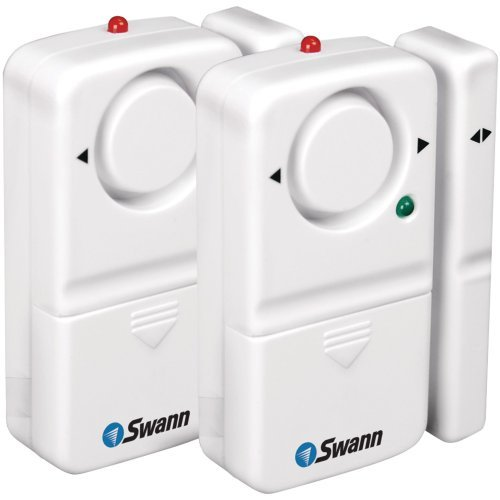 SWANN SW351-MD2 Complete Window & Door Magnetic Alarm Kit (2 pk)