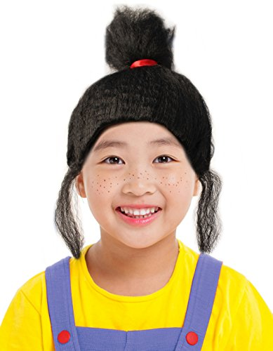 Black Agnes Wig Agnus Wig Costume for Kids Ideal for an Agnes Costume - Adult Agnes Costumes