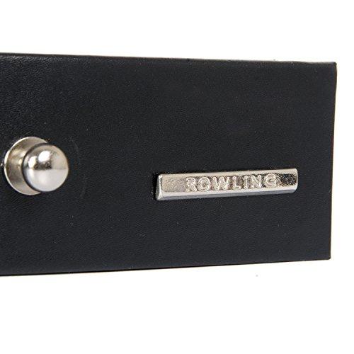 ROWLING Schmuckkoffer groß Schmuckkästchen Schmuckschrank Schmuckkasten Schmuckschatulle Schmuckbox (Weiß) -