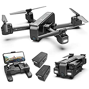 Flashandfocus.com 41GDcupt37S._SS300_ Holy Stone HS270 GPS 2.7K Drone with FHD FPV Camera Live Video for Adults, Portable Selfie Quadcopter with 2 Batteries…