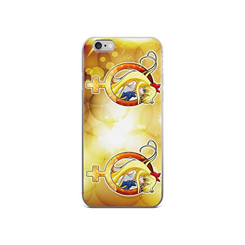 iPhone 6 Case iPhone 6s Case Clear Anti-Scratch Sailor Venus - Crystal Planet Edit. Sailor Cover Phone Cases for iPhone 6/iPhone 6s, Crystal Clear