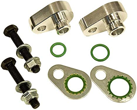 Fix Rear Air Conditioning Line Leaks Auxiliary Rear AC Elimination Kit BK85075 Rear A//C Block Off Kit