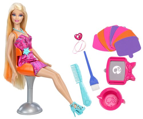 Barbie Hairtastic Color Stylin Doll
