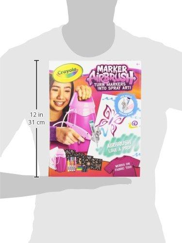 Crayola aer grafo marcador rosa 1 en mercado for Aerografo crayola amazon