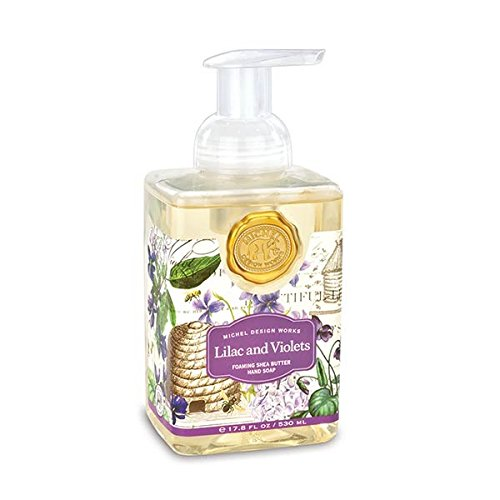 - Michel Design Works Scented Foaming Hand Soap, Lilac and Violets, 1 Unit, Lilac & Violets